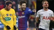 Neymar, Messi worth 2.5 times more than Ronaldo