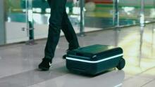 Suitcase to walk with you!