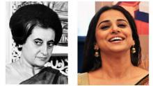 Vidya to play Indira Gandhi on screen