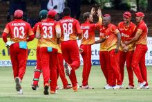 Zimbabwe cricket team arrives in city