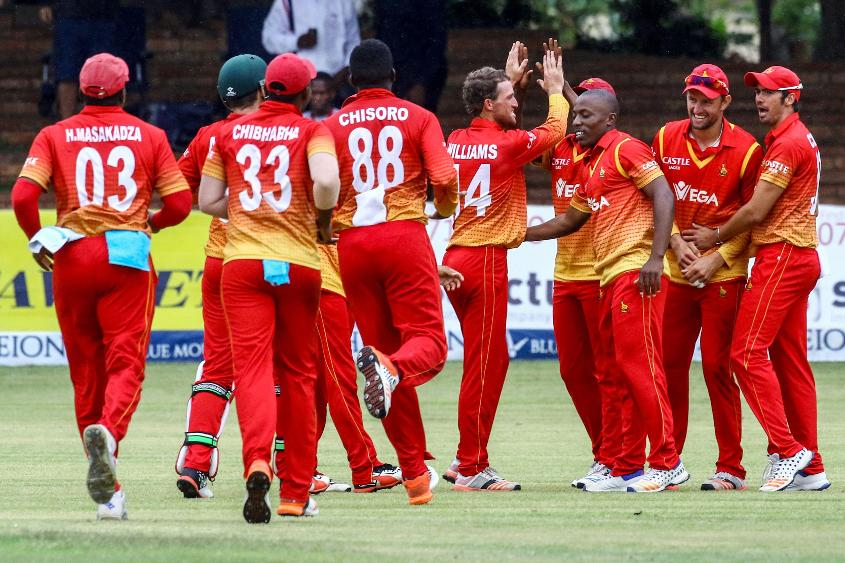 Zimbabwe cricket team arrives in city