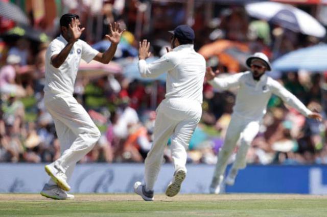 Ashwin boosts India against SA