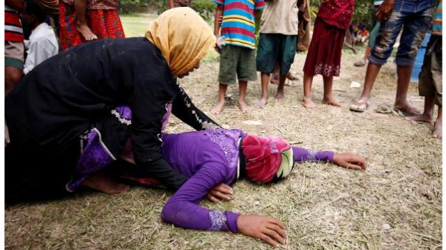 10 innocent Rohingya civilians in mass grave