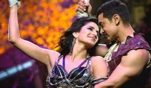 Aamir, Katrina learning dance together