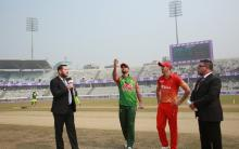 Bangladesh win toss, elect to field first against Zimbabwe