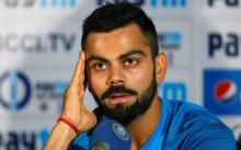 Virat Kohli fined 25pc of match fee
