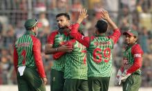 Bangladesh beat Sri Lanka by 163-run in 3rd ODI