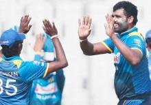 Sri Lanka restrict Zimbabwe for 198 runs in 4th ODI