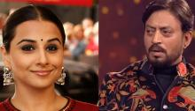 Irrfan Khan, Vidya Balan win best actors' award at 63rd Jio Filmfare Awards