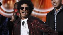 Bruno Mars wins Grammy's Song of The Year
