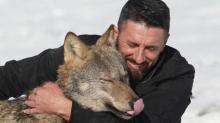 Kosovo farmer names one of his wolves Trump