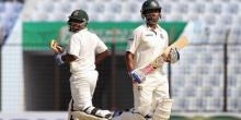 Bangladesh 120 for 2 at lunch on day 1 in first Test