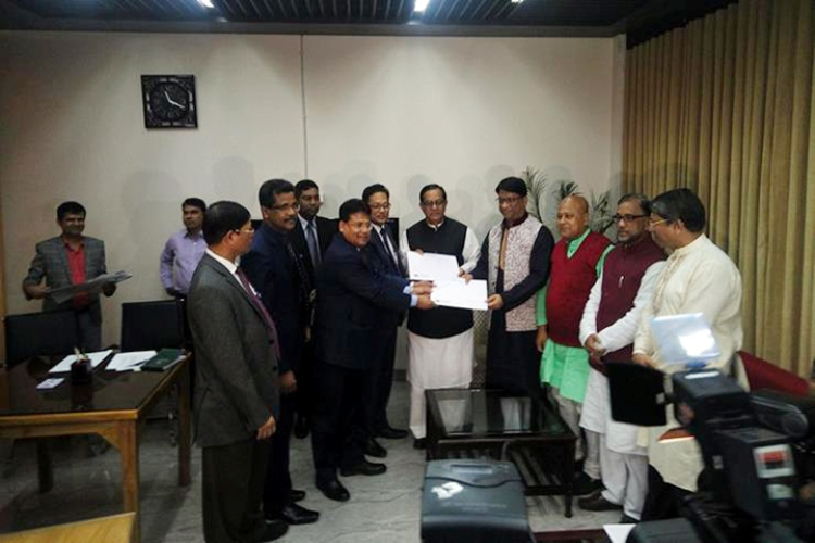 AL collects nomination form for Hamid's second-term presidency