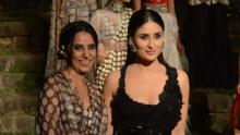 Kareena looks pristine at Lakme Fashion Week finale