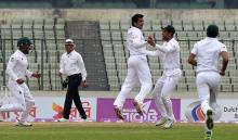 Sri Lanka all out for 222 against Bangladesh on day one in 2nd Test