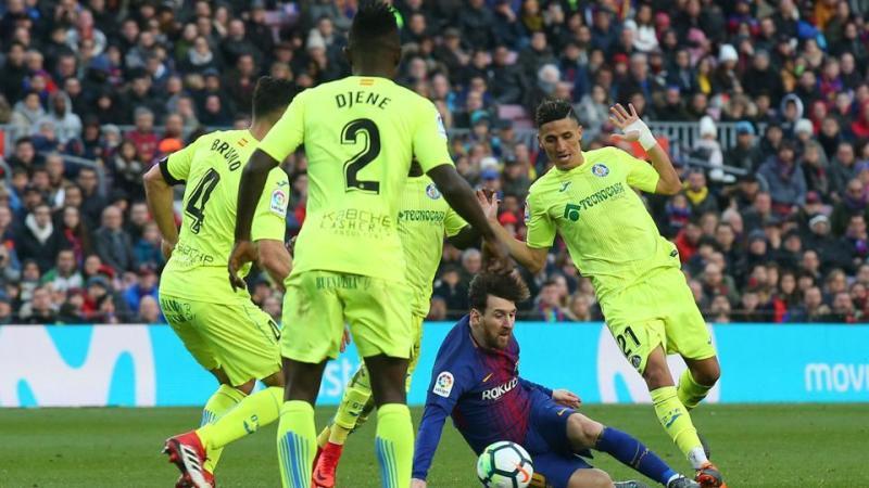 Messi, Luis Suarez frustrated as Barcelona draw against Getafe in La Liga