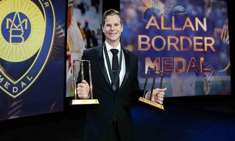 Smith storms to Allan Border Medal