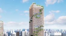 World's tallest wooden skyscraper will be built in Tokyo