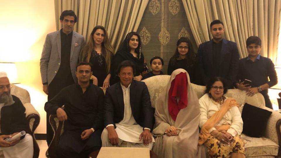 Imran Khan marries 'spiritual adviser' in 3rd marriage