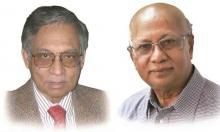 Central Bank gives BB Award to Dr Azizur Rahman and Dr Mahbub Hossain
