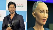 SRK Sophia's favourite actor