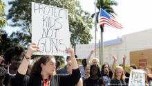 Trump calls 'gun-free zone' a maniac
