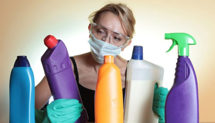 Household cleaning products may harm lung function