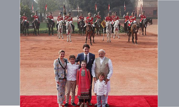 Modi meets Trudeau amid controversy