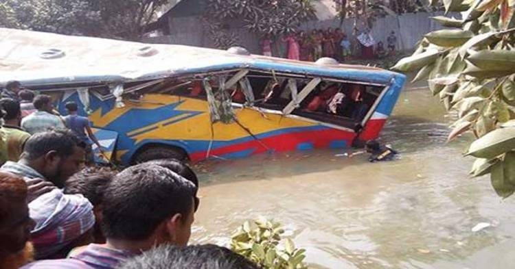 4 killed in Mymesingh bus plunge