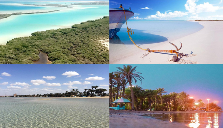 The beautiful beaches of Amlaj, the 'Maldives of Saudi Arabia'