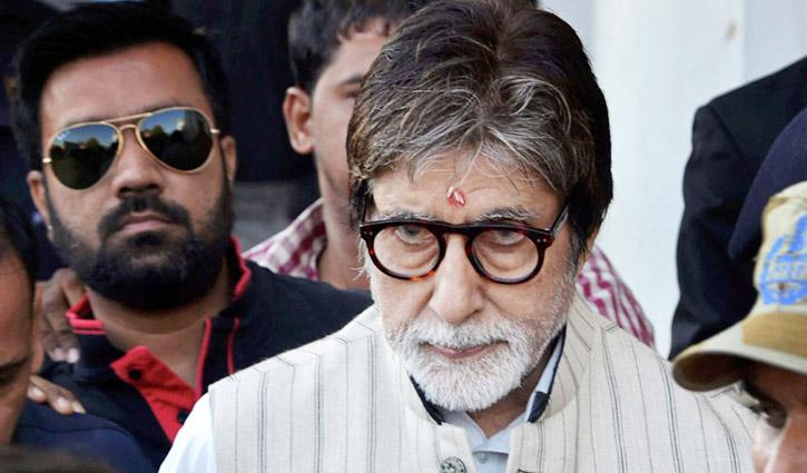Amitabh Bachchan falls ill