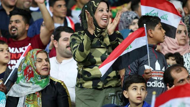 FIFA lifts three-decade ban on Iraq hosting international matches