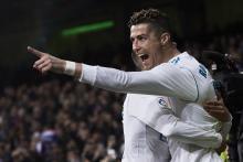 Ronaldo scores 4 goals as Madrid beats Girona 6-3