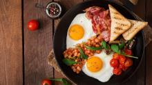 Want to lose weight? Eat a high-energy breakfast and average lunch