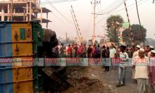 Four killed as train hits covered van in Feni