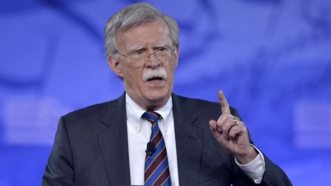 John Bolton named as Trump's new security advisor