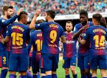 Record-breaking Barca back on track after beating Valencia