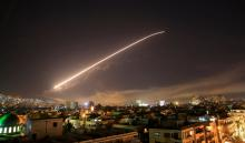 Trump, allies praise Syria strikes as Moscow seethes