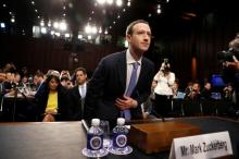 Zuckerberg's compensation rose to $8.9 million as security costs soar