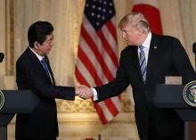 Trump hails secret Kim-CIA chief meeting