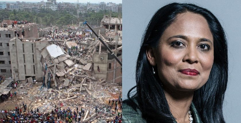 Labour MP Rushanara Ali: 'Rana Plaza was a man-made disaster'