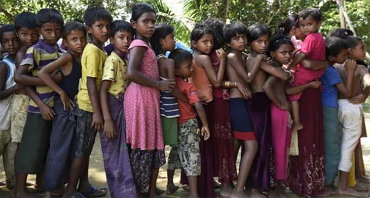 Unicef gets $15.7 million Japanese fund for Rohingya children