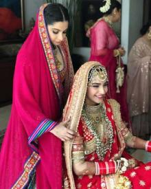 Sister Rhea announces Sonam Kapoor's new name after marriage