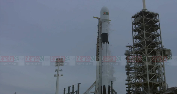 Bangabandhu-I launching process resumes tonight after last minute auto abort