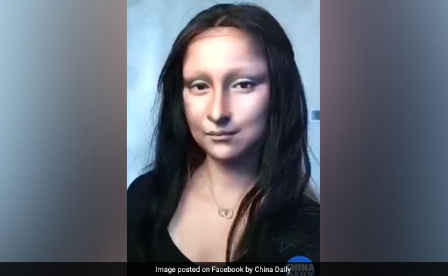 Not special effects, blogger wows internet with Mona Lisa makeover