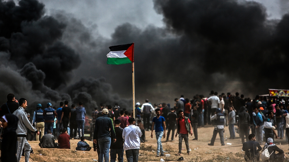 43 killed in Gaza violence before US embassy opening