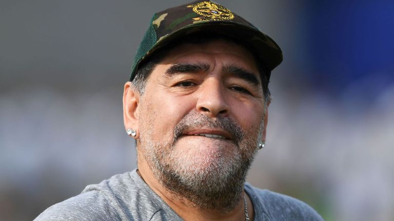 Maradona joins Belarus's Brest as chairman: club