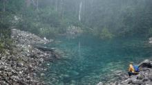 Tasmanian disappearing lake re-emerges