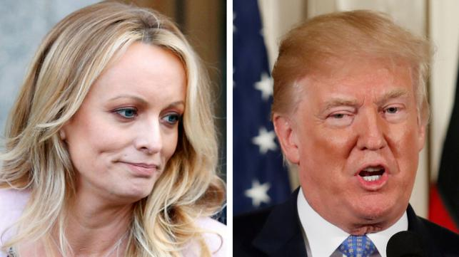 Trump discloses porn star's payment