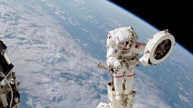 Astronauts complete 6-hr spacewalk